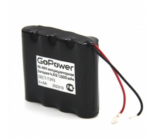 Аккумулятор радио/тел  GoPower  T393 - 4*AA PC1 NI-MH