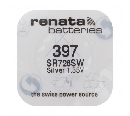 Батарейка RENATA    R397 SR726SWN-PB, SR59 ( G2)  (10/100)