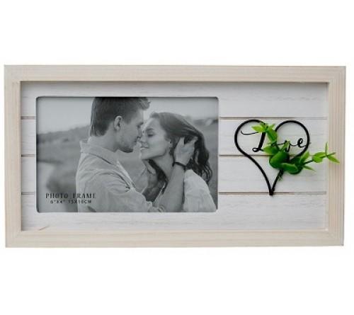 Ф/Рамка из МДФ  FFL - 866, 10x15 см., Love (12)