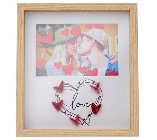 Ф/Рамка из МДФ  FFL - 874, 10x15 см., Love (12)