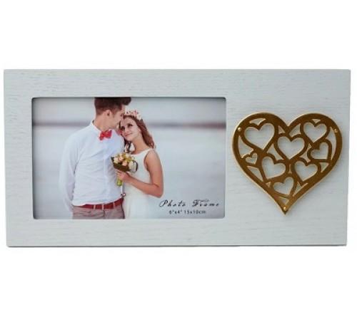 Ф/Рамка из МДФ  FFL - 876, 10x15 см., Love (12)