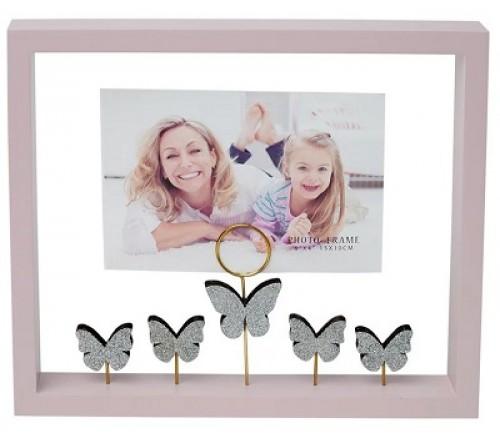 Ф/Рамка из МДФ  FFL - 871, 10x15 см., Бабочки (12)