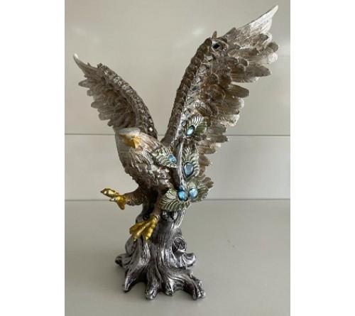 Сувенир  C10  Орёл    32 см Керамика