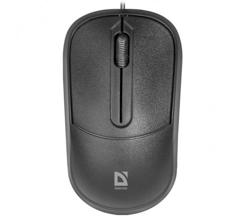 Мышь DEFENDER    531                   (USB, 1000dpi,Optical) Black Блистер