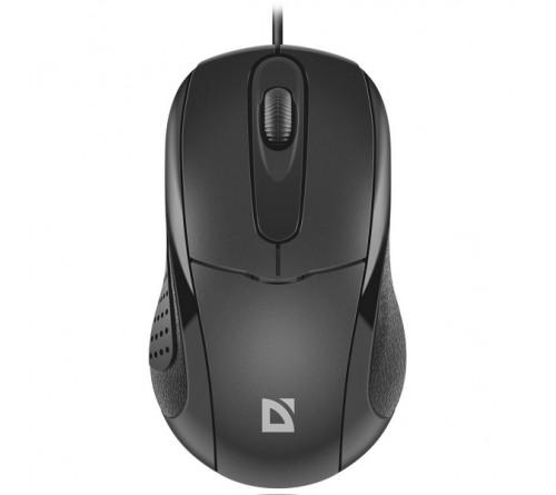 Мышь DEFENDER    580 Standart     (USB, 1000dpi,Optical) Black Коробка
