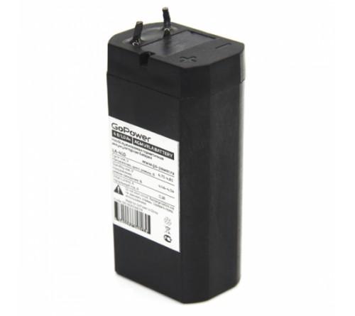 Аккумулятор GoPower VRLA  4v - 1 Ah    Свинц.- кислотный  AGM  (1 / 10)