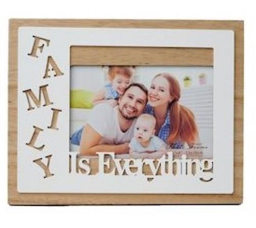 Ф/Рамка из МДФ  FFL - 873, 10x15 см., Family is everything (12)