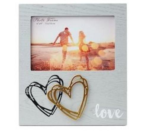 Ф/Рамка из МДФ  FFL - 881, 10x15 см., Love (12)