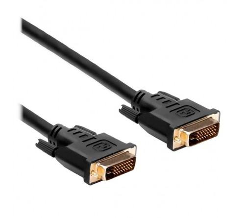 Кабель  Perfeo (D8101) DVI-D вилка - DVI-D вилка, длина 2 м. в пакете (  20)