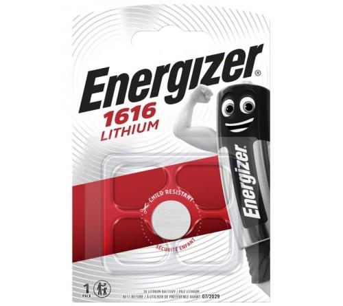 Батарейка ENERGIZER     CR1616  ( 1BL) Lithium 3 V (10)