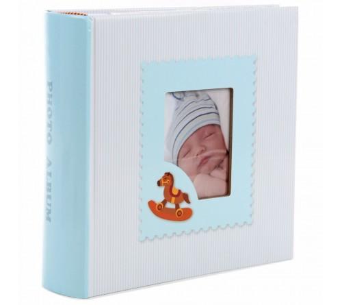 Ф/Альбом  Pioneer  (115393) 300 фото, 2 ф.на стр. Книжный переплёт, Мemo  Our baby                   (12)