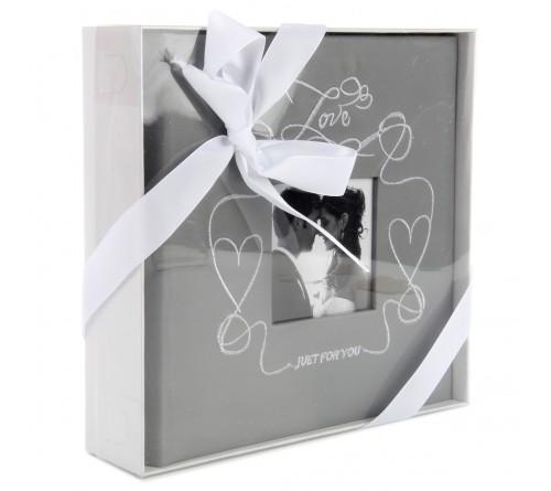 Ф/Альбом  Pioneer  (92902)  200 ф  Делюкс,  Книжный переплёт, Memo,  Wedding Heart (12)