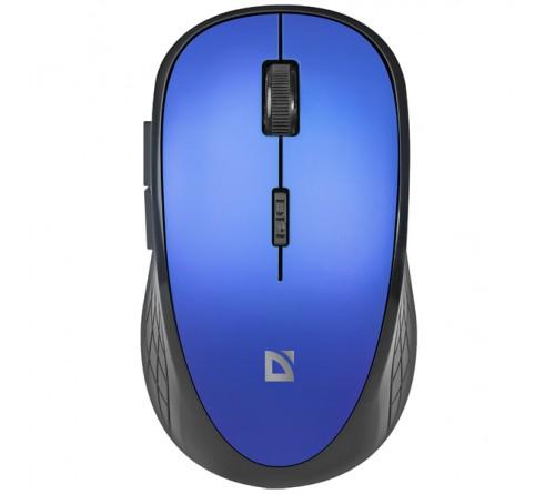 Мышь DEFENDER    755 6D Aero     (Nano,1600dpi,Optical) Blue Беспроводная Блистер