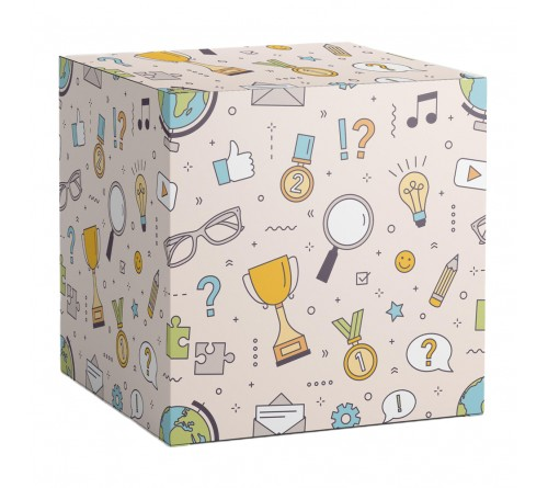 Подарочная коробка для кружки Школьник