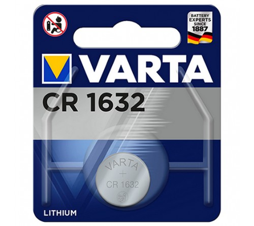 Батарейка VARTA              CR1632  ( 1BL)( 10)(100) 6632
