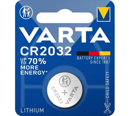 Батарейка VARTA              CR2032  ( 1BL)( 10)(200)
