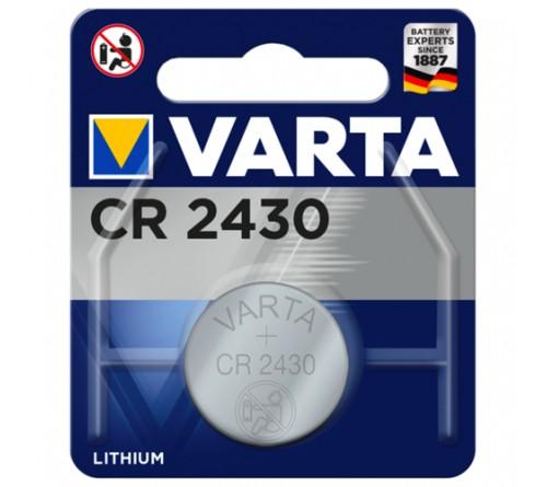 Батарейка VARTA              CR2430  ( 1BL)( 10)(100)