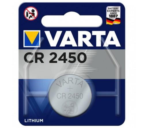 Батарейка VARTA              CR2450  ( 1BL)( 10)(100) 6450