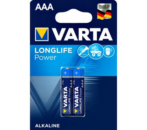 Батарейка VARTA             LR03  Alkaline  (  2BL)(20)(100) High Energy/ L Power
