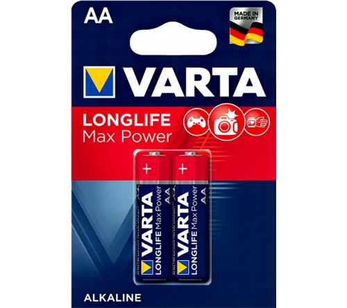 Батарейка VARTA             LR6  Alkaline  (  2BL)(40)(200)  4706  Max Tech/ L. MAX POWER