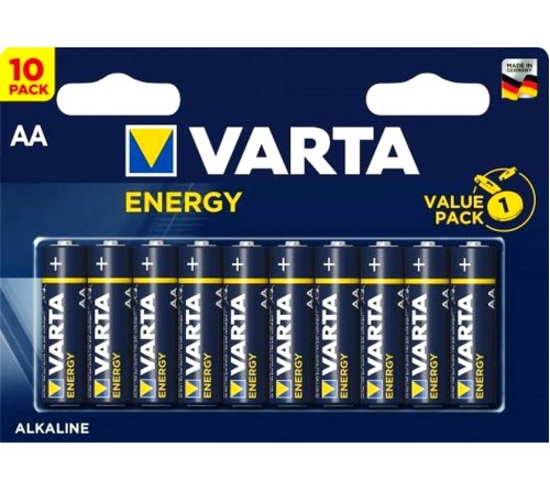 VARTA             LR6  Alkaline  (10BL)(100)(200)  4106  Energy