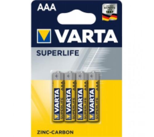 Батарейка VARTA             R03  (4BL)(48)(240)  2006  Super Life  Блистер