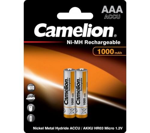 Аккумулятор CAMELION  R03   (1000mAh)(2BL)(24)