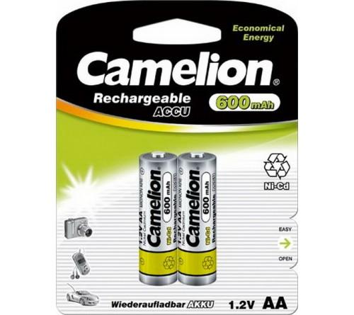 Аккумулятор CAMELION  R6     (  600mAh)(2BL)(24)