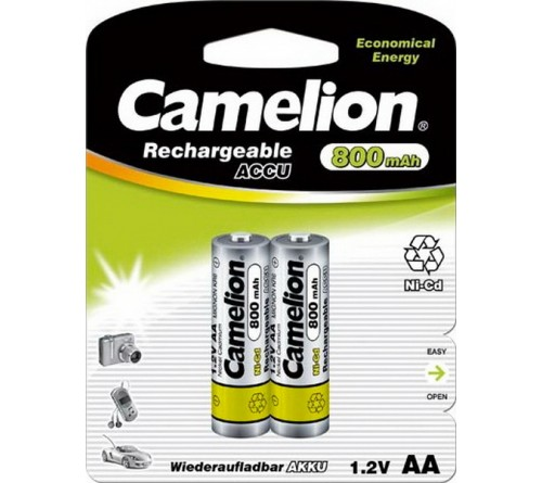 Аккумулятор CAMELION  R6     (  800mAh)(2BL)(24)