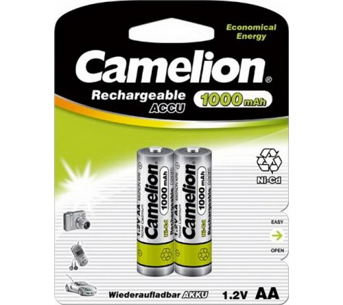 Аккумулятор CAMELION  R6     (1000mAh)(2BL)(24)