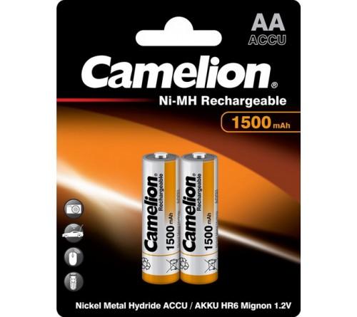 Аккумулятор CAMELION  R6     (1500mAh)(2BL)(24)