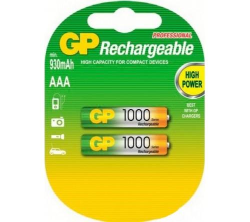 Аккумулятор GP               R03   (1000mAh)(2BL)(20)