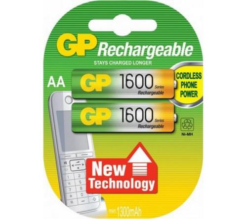 Аккумулятор GP               R6     (1600mAh)(2BL)(20)
