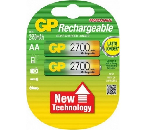 Аккумулятор GP               R6     (2700mAh)(2BL)(20)