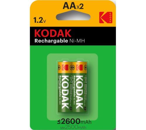 Аккумулятор KODAK       R6     (2600mAh)(2BL)(40)
