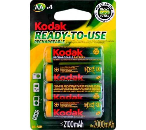 Аккумулятор KODAK        R6     (2100mAh)(4BL)(80)