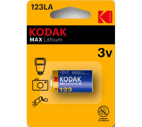 Батарейка Бочонок  KODAK           А-123  3V  (12)