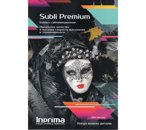 Бумага сублимационная Inprima, Subli Premium A4 100л
