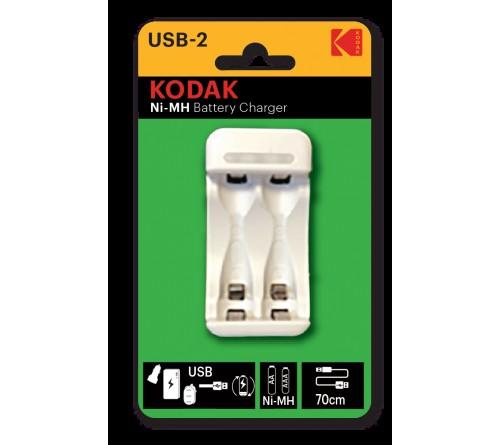 Зарядное устройство  KODAK         C8001B USB [K2AA/AAA] (6)