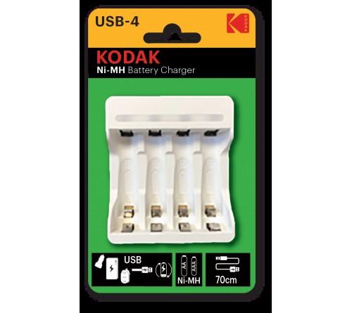 Зарядное устройство  KODAK         C8002B USB [K4AA/AAA] (6)