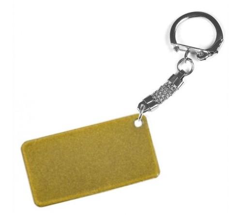 Брелок Селфи золото с сублимационным покрытием