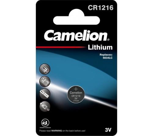 Батарейка CAMELION        CR1216  ( 1BL)(  10)(100)