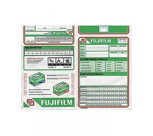 Конверты     FUJI     (без плёнки) одноцветные (1000 ШТ)